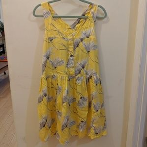 EUC Levi's yellow sundress